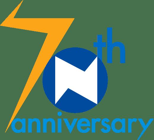 70周年ロゴ