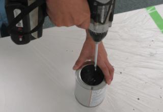 攪拌方法(1kg缶)