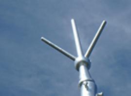 雷対策設備の劣化・破損例