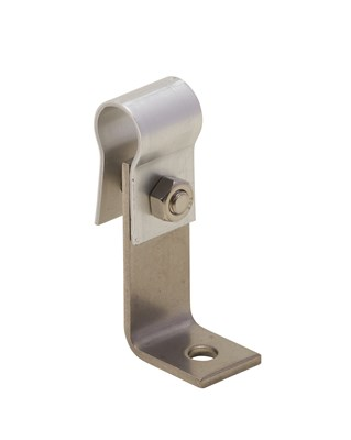 アルミ線取付金物 L型 2.0×19