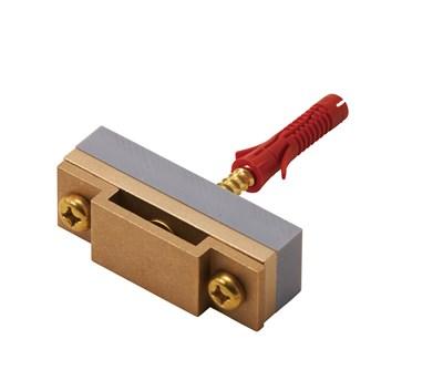 銅帯取付金物 横型樹脂アンカー付