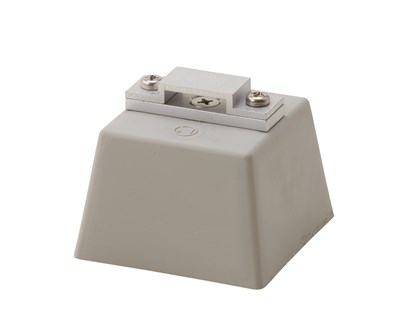 アルミ帯取付金物 Pブロック付横型
