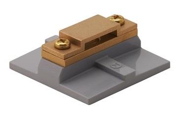 銅帯取付金物 横型貼付用