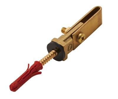 銅帯取付金物 縦型樹脂アンカー付